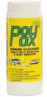 A one-step marine cleanser and rust remover